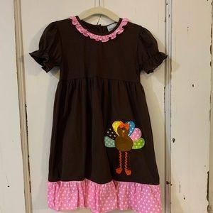 Size 5 Brown Turkey Dress